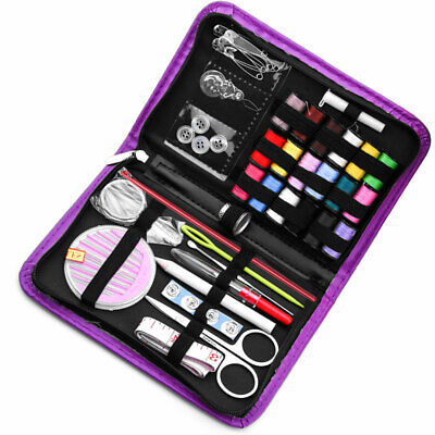 Travel Sewing Kit Thread Needles Mini Case With Scissors Tape Pin With Bag
