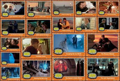 Topps Star Wars Card Trader JOURNEY TO RISE OF SKYWALKER [19 CARD ORANGE SET]