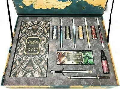 URBAN DECAY GAME OF THRONES VAULT 13 Piece Set Limited Edition New in Box