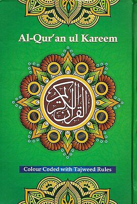 Special Offer:Quran in Arabic with Colour Coded Tajweed Rules - A5 Size.13 Lines