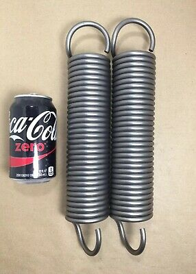 ".283"" Wire Extension Spring Lot Of 2"