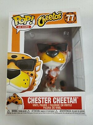 Funko Pop Ad Icons Cheetos Chester Cheetah Vinyl Figure 77