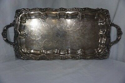 F.B. Rogers Silver Co. 1883 Silverplate #7738-RARE-Serving Tray-Platter-VINTAGE