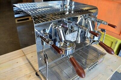 Elektra Sixties T3 Compact 2 Group with Ceado E37S Grinder + Knock Tube