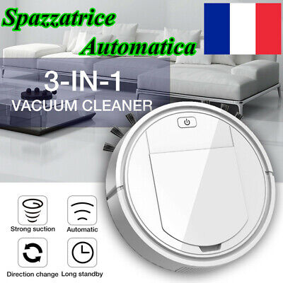 3-IN-1 Rechargeable Intelligent Sweeping Robot Sweep Suction Sweeper Automatic·τ