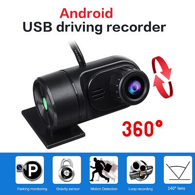 1080P Video Driving Recorder For Android Full HD USB Car DVR Dash Cam Camera NEW