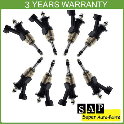 NEW OEM 2014-2018 ESCALADE//SILVERADO//SIERRA INJECTOR KIT 12623116 SET OF 6