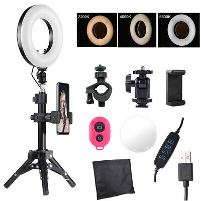 9'' Selfie LED Ring Light with Stand,Phone Holder for YouTube Live Stream Makeup