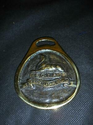 Excellent Vintage British Army Royal Lincolnshire Regiment Military Horse brass
