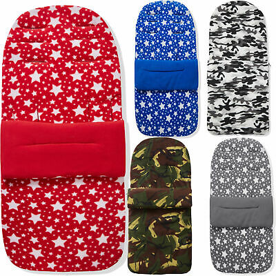 Fleece Pushchair Footmuff / Cosy Toes Compatible With BabyStyle