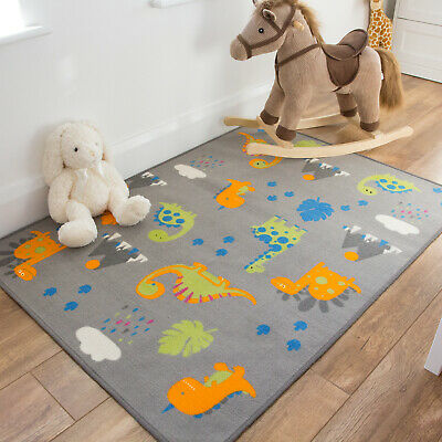 Storytime Dinosaur Rugs   Childrens Mats   Great Christmas Gifts   Colourful Rug