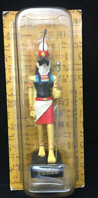 Vintage Ancient Egypt Egyptian God  figurines resin statue HORUS NEW HACHETTE