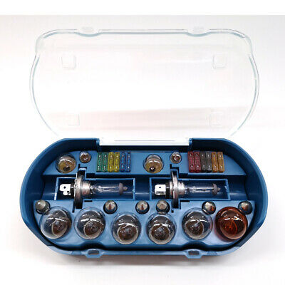 Universal 30 Piece Car Vehicle Replacement Emergency Bulb Fuse Spare H4 Kit00940