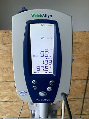 WELCH ALLYN SPOT VITAL SIGNS MONITOR 42NTB with or without stand