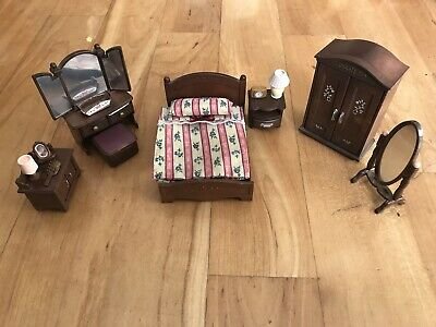 Sylvanian Families Furniture Bundle Kitchen Bedroom Bathroom Living Room