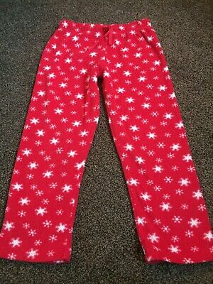Girls Boys Fleece Pyjama Bottoms M&S 5-6