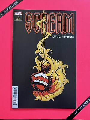 Scream Curse of Carnage #1 Variant Skottie Young Cover B Marvel 2019 NM