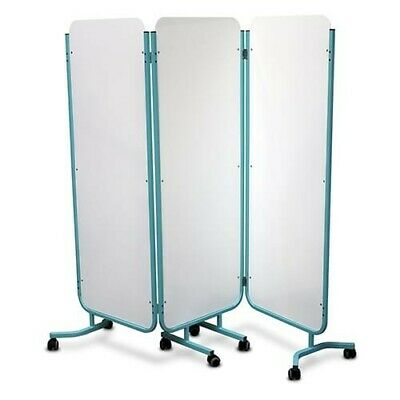 Bristol Maid 3 Section Solid Screen, Medical, Dental, Podiatry