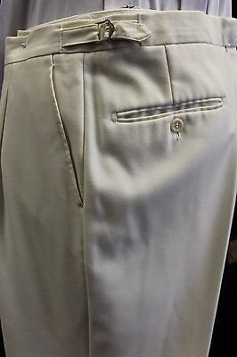 Mens And Boys Cream Trousers
