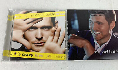 MICHAEL BUBLE: 2 Music CD Lot Crazy Love Easy Listening Romantic Love Songs