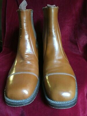Vintage size UK 9, Leather, Northampton Made, 1970s, 80s, 90s Mens Slip On Boots