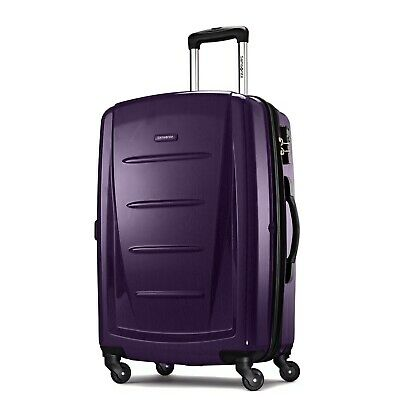 "Samsonite Winfield 2 Fashion 24"" Spinner-Purple"