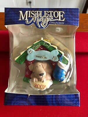 Mistletoe Magic Collection Christmas Ornament with Good Dog 2007