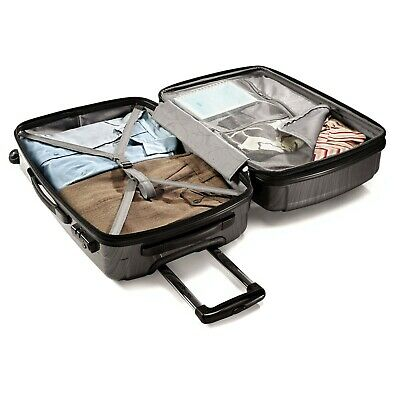 Samsonite Winfield 2 Hardside Luggage Set With Spinner Wheels-Anthracite color