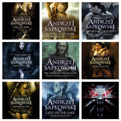 Witcher Series 5 Audiobooks Young Adult Collection - Andrzej Sapkowsk Saga