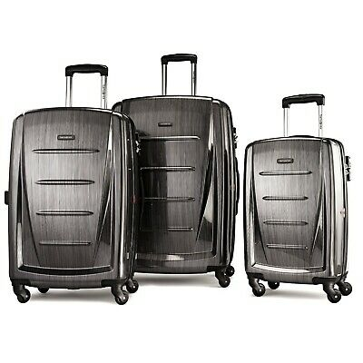 Samsonite Winfield 2 Hardside Luggage Set With Spinner Wheels-Charcoal