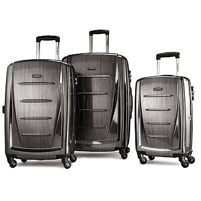Samsonite Winfield 2 Hardside Luggage Set With Spinner Wheels-Deep Blue