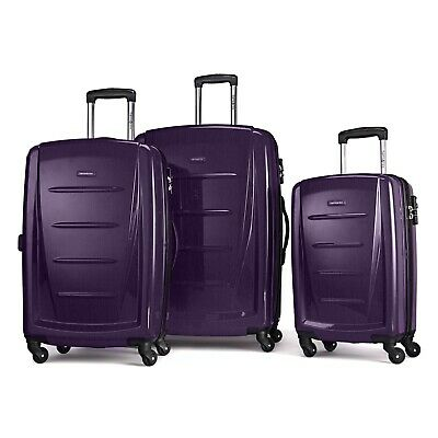 Samsonite Winfield 2 Hardside Luggage Set With Spinner Wheels-Purple