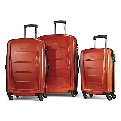 Samsonite Winfield 2 Hardside Luggage Set With Spinner Wheels-Orange