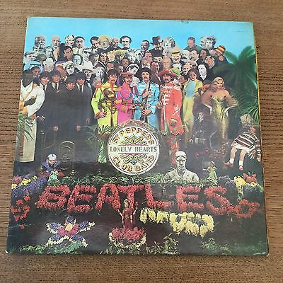 The Beatles, Sgt Peppers Lonely Hearts Club Band Mono Parlophone YEX 637-1/638-1