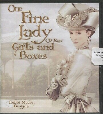 Debbi Moore Designs - One Fine Lady - Gifts & Boxes CD ROM