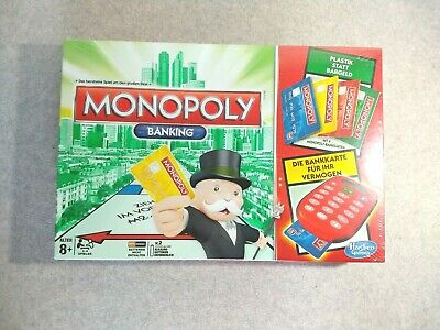 Super Rare  Hasbro Gaming-Electronic Monoply Board Game New And Sealed