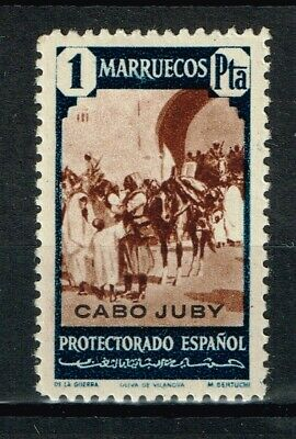 CABO JUBY  Edifil  128*  (cat. 2,70€)   MH