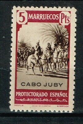 CABO JUBY  Edifil  130*  (cat. 16,25€)   MH
