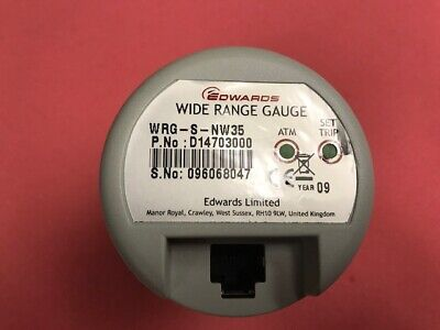 Edwards MODEL  WRG-S-NW35 Part No. D14703000 Wide Range Gauge