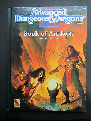 Advanced Dungeons & Dragons Book Of Artifacts Tsr 2138 D&D Ad&D 2Nd 1993