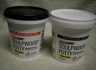 16oz SculpWood Moldable Epoxy Putty,  Painting Supplies Home Improvement
