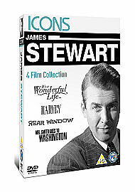James Stewart - Icons DVD Box Set  New  Sealed