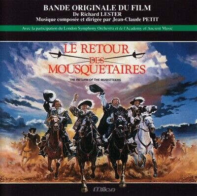 The Return Of The Musketeers - Jean-Claude Petit - Soundtrack CD (MilanCD CH383)