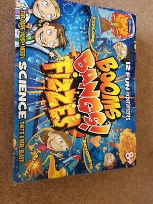 Booms Bangs Fizzes Fun Science Experiments Kit For Kids