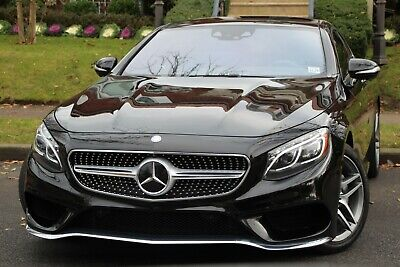 2015 Mercedes-Benz S-Class S 550 4MATIC AWD 2dr Coupe 2015 Mercedes-Benz S-Class S 550 4MATIC AWD 2dr Coupe Automatic 7-Speed AWD V8