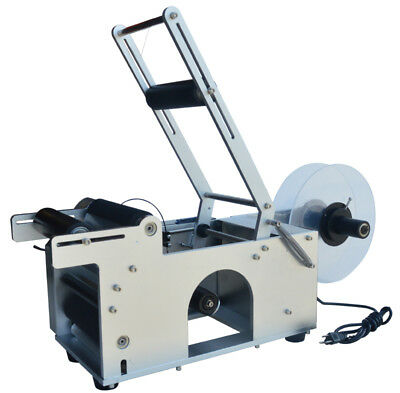"""Automatic Round Bottle Labeling Machine for Ф0.47""""-3.54""""/12-90mm Commercial New"""