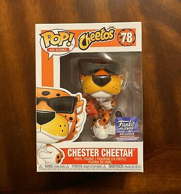 Funko Pop Ad Icon Cheetos Chester Cheetah Hollywood Exclusive, DISCONTINUED