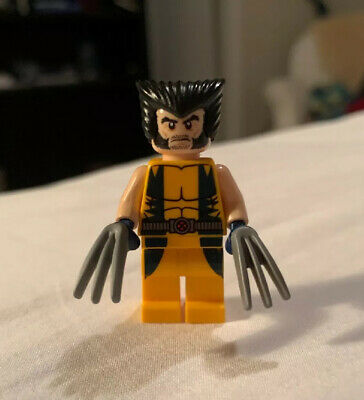 BM009v1 Lego Marvel Chopper Showdown X-Men Genuine Wolverine Minifigure 6866 NEW
