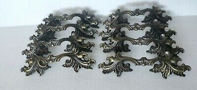 Vintage French Provincial Style Drawer Pulls Brass Five