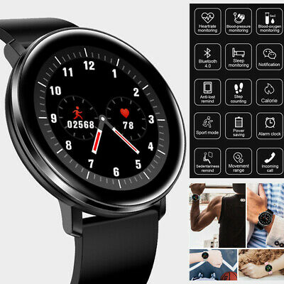 Smart Watch Sport Fitness Tracker For iOS Android With Heart Rate Blood Pressure
